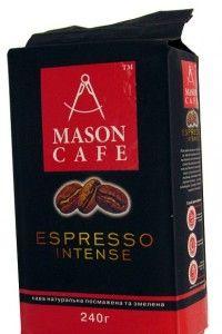 Купить Кофе Mason Espresso Intense молотый 240 грамм