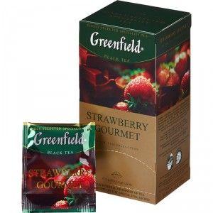 Купить Чай Гринфилд Strawberry Gourmet 25 пакетиков