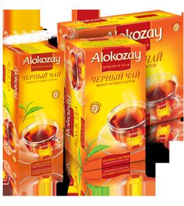 Купить Чай Алокозай черный 100 пакетиков