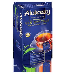 Купить Чай Алокозай Бергамот черный 25 конвертов