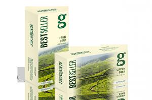 Купить Чай Грейс Грин Стар 25 пакетов