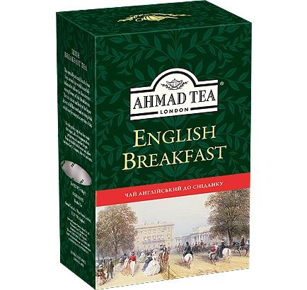 Купить Чай Ахмад Английский к завтраку 100 грамм