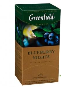 Купить Чай Гринфилд Blueberry Nights 25 пакетов