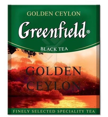 Купить Чай Гринфилд Golden Ceylon 100 пакетиков