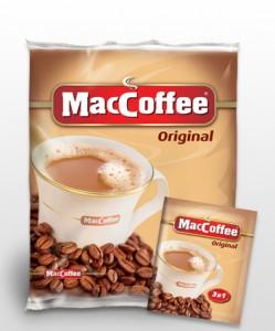 Купить Маккофе 3 в 1 Оригинал 25 пакетиков