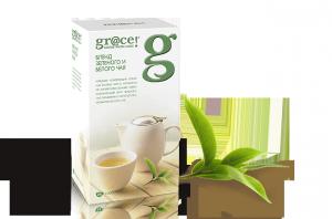 Купить Чай Грейс Бленд Зеленого и Белого чая 25 пакетов