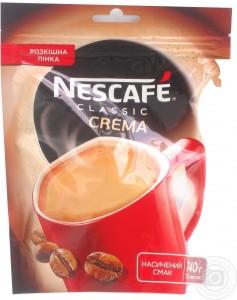 Купить Кофе Нескафе Классик Крема 140 грамм