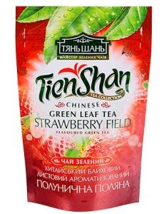 Купить Чай Тянь Шань Клубника 80 грамм