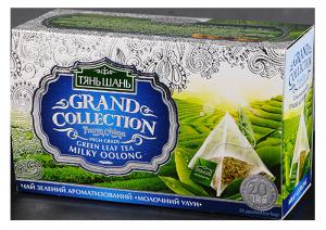 Купить Чай Тянь Молочный Улун 20 пирамидок
