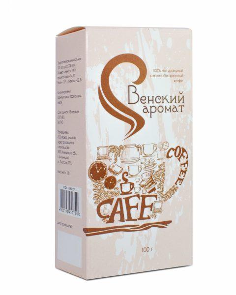 Кофе Венский аромат молотый 100 грамм