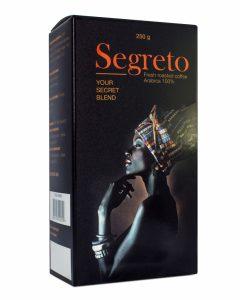 Кофе Segreto зерно 250 грамм
